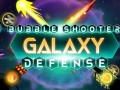 Spēles Bubble Shooter Galaxy Defense