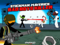 Spēles Stickman Maverick: Bad Boys Killer